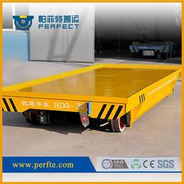 喷砂设备车间运输地轨车低压轨道电动平车