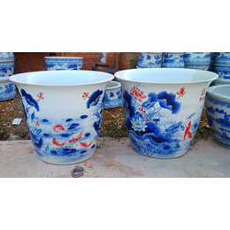 供应陶瓷大缸 摆件陶瓷鱼缸 陶瓷大缸厂家
