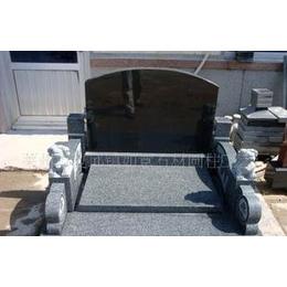 供应黑墓碑、中式墓碑