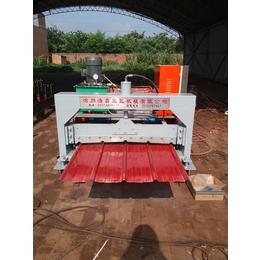 浩鑫压瓦机械供应900型全自动彩钢设备彩钢瓦机冷弯设备