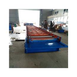 浩鑫压瓦机专业生产屋面板角驰压瓦机彩钢压瓦机金属性型万博manbetx官网登录