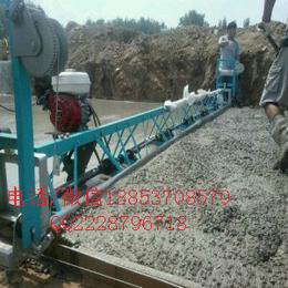 安徽刘安三分之一的道路使用混凝土摊铺机 框架式整平机