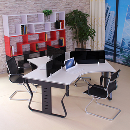 各种蝴蝶钢架办公桌定做 直销