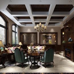 高安市华硕世纪风情整套别墅设计装修