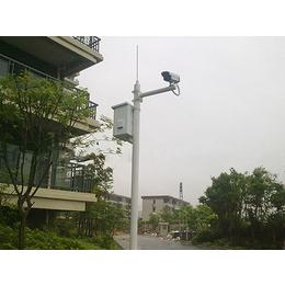 重庆监控立杆厂家 3米5米小区立杆 枪机球机立杆定做厂家
