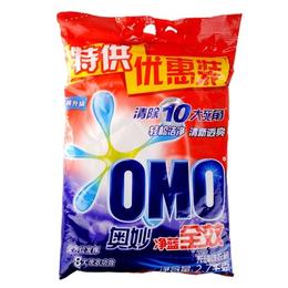 供应天津微商专供奥妙300g洗衣粉批发价格