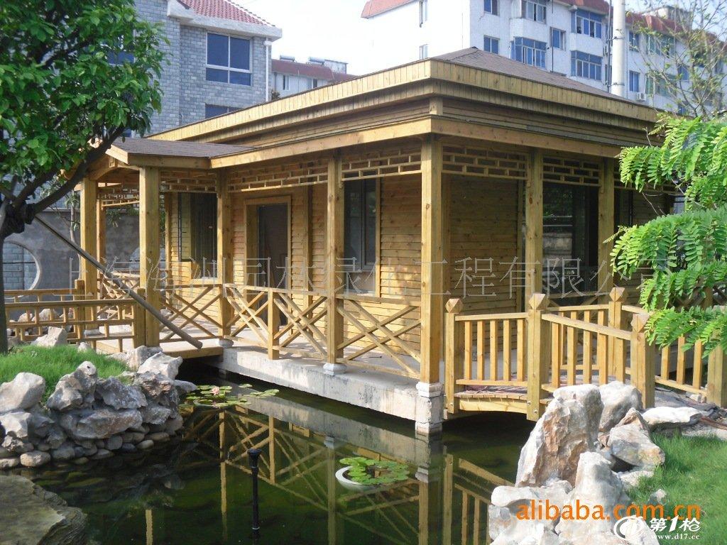 小木屋,木结构房屋