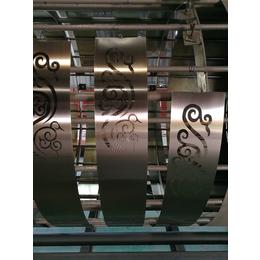厂家供应拉丝玫瑰金不锈钢蚀刻花纹板量大优惠 可送货上门
