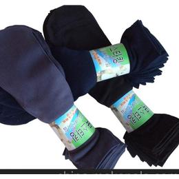 厂家直销 常年大量出售 抽条涤纶透气男丝袜