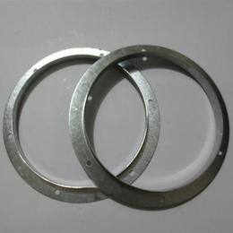 镀锌碳钢冲孔法兰盘江苏宜兴厂家供应加厚圆形角铁法兰盘大量批发