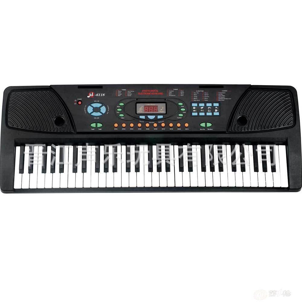 mq-6118 61键多功能玩具电子琴