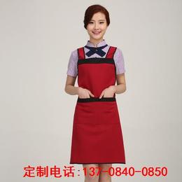 时尚潮流新款广告围裙印字围裙促销礼品围裙免费设计logo印刷