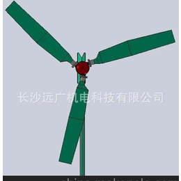 供2KW自动变桨稳速风力发电机