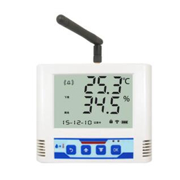 冷库冷柜无线电温湿度变送记录仪