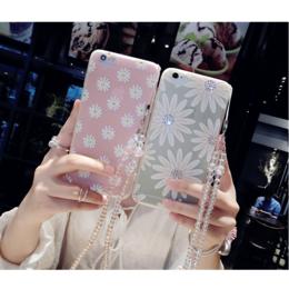 浮雕彩绘6s定制小雏菊 iphone7手机壳保护套