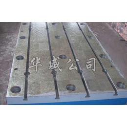 铸铁平板   铸铁平台      圆型   t型槽定制