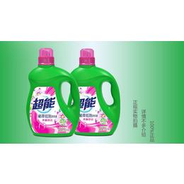 超能洗衣液植翠低泡鲜艳亮丽2.5kg4瓶20斤装缩略图