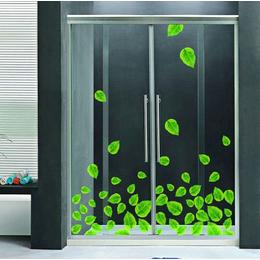 厂家定制新款8mm-12mm钢化淋浴房玻璃