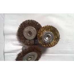 各种规格的高质量高标准 钢丝轮,笔刷
