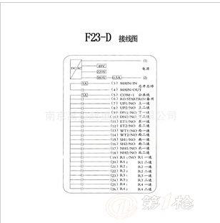 台湾禹鼎 大连禹鼎遥控器 工业遥控器f23-d