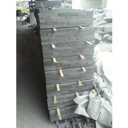 供应江西黑色文化石组合板胶粘文化石锈色文化石组合板胶粘文化石