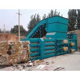 晋中蓬松废纸壳纸板打包机协力卧式液压打包机省时高产