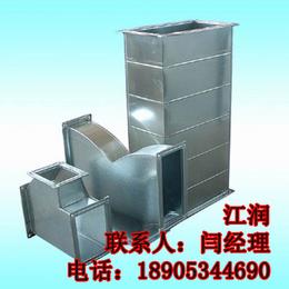 兴江润供应镀锌板共板法兰风管 风机生产厂家风管
