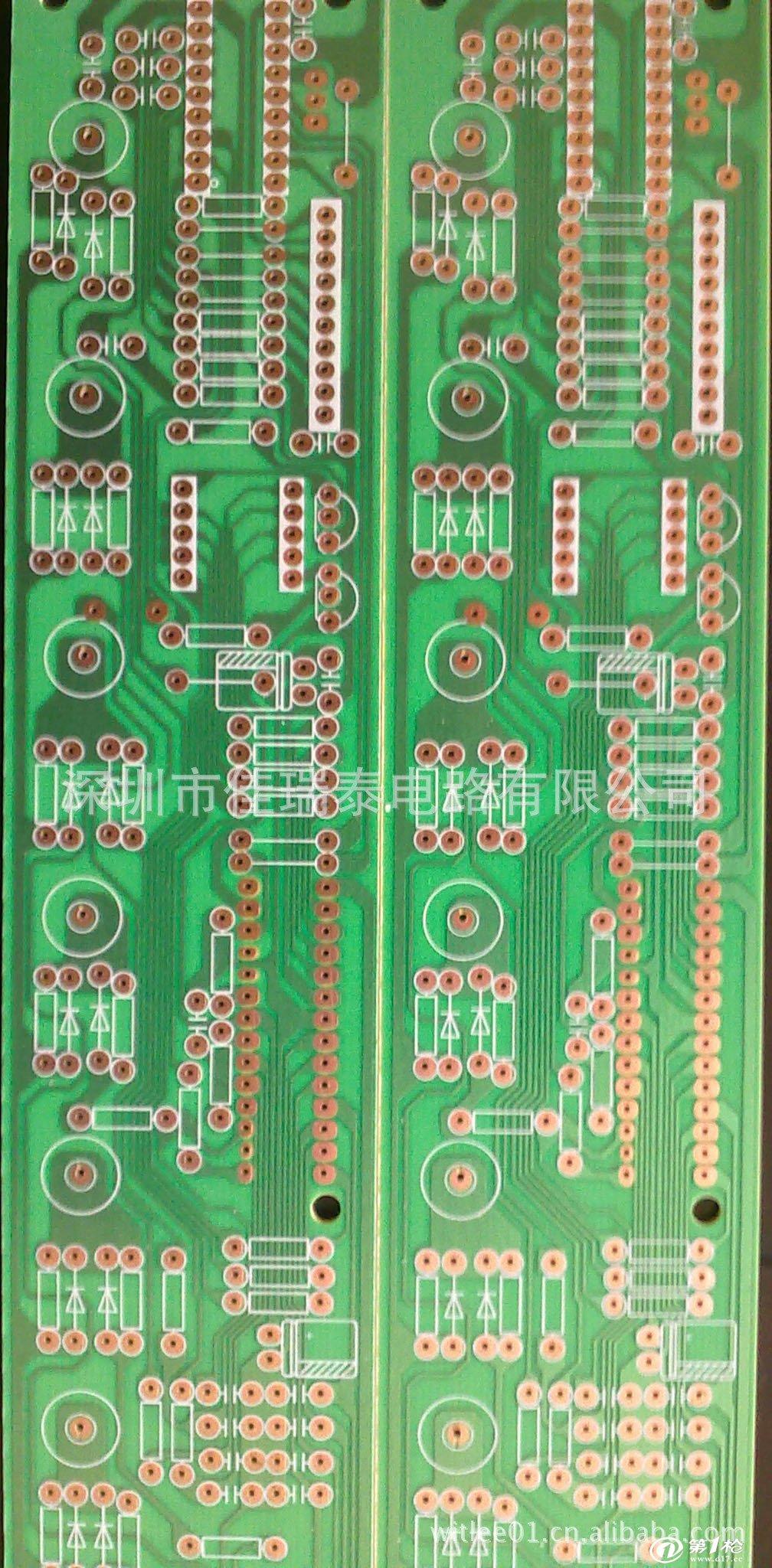 供应单面线路板,模组pcb,节能灯镇流器路板,电路板pcb