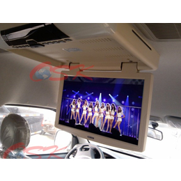 15寸吸顶式DVD 车载显示器 吸顶折叠显示器 可插卡播放