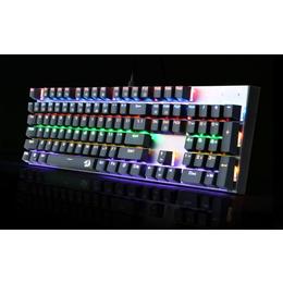 虹龙K350枪色机械键盘 青轴