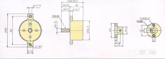 动车接线盒图纸