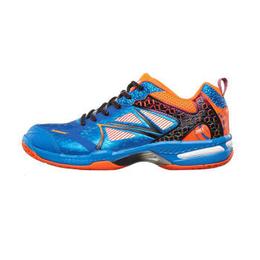 川崎羽毛球鞋男女款****运动鞋狂风系列 K-616 蓝桔 43