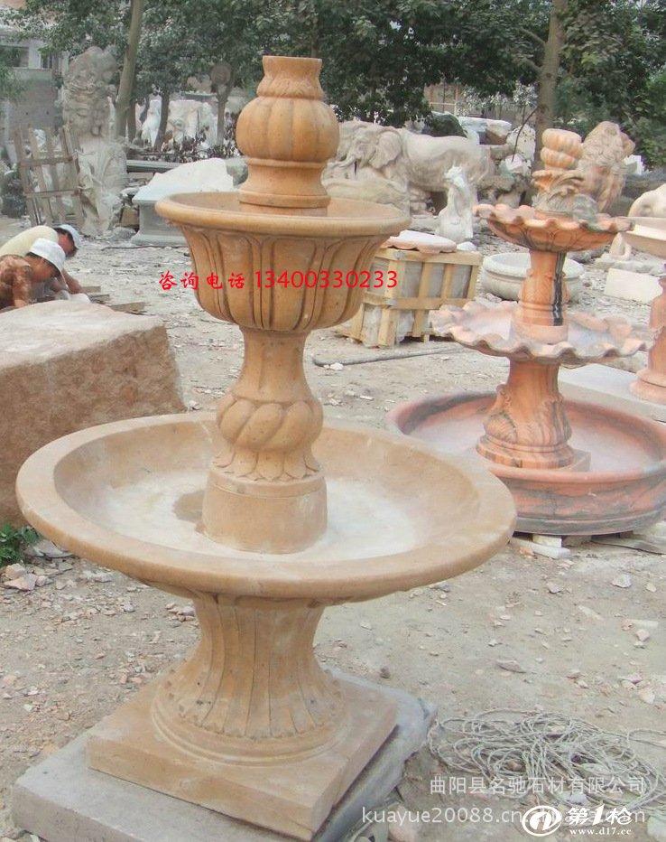 大理石喷泉 石雕喷泉 欧式喷泉