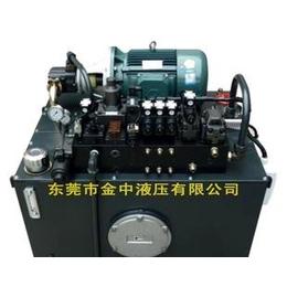 挤出机液压系统 江门小型液压系统设计 液压泵站厂家图片