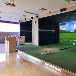 Greenjoy衡泰信城市室内高尔夫模拟器系统A2
