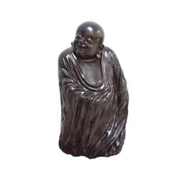 古沉木雕刻艺术JXLYQ00074 笑佛