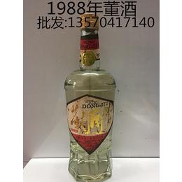 供应直销老董酒1988年董酒玻璃瓶