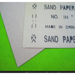 打磨家具玩具配件砂纸片丨打磨玩具毛刺木砂纸厂家