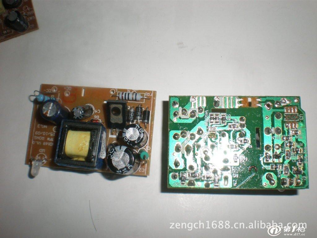 供应库存usb充电器线路板 半成品机板 充电器机板