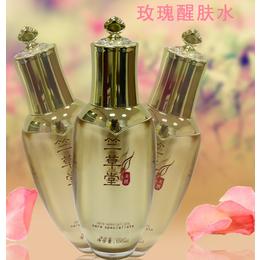 广州化妆品厂家竺草堂玫瑰醒肤水