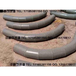 水泥行业高磨损物料输送用陶瓷复合管