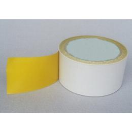 供应茗超黄色棉纸双面胶 黄色高粘双面胶