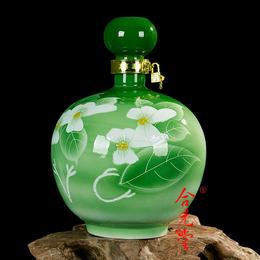 景德镇泡酒瓶厂家批发 陶瓷泡酒瓶定做
