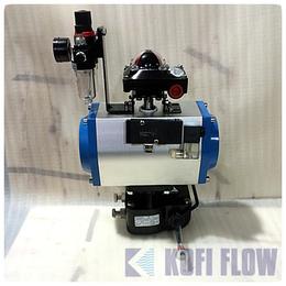 SFV 供应GT系列阀门气动执行器 带三联件