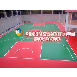 许昌塑胶篮球场厂家价格
