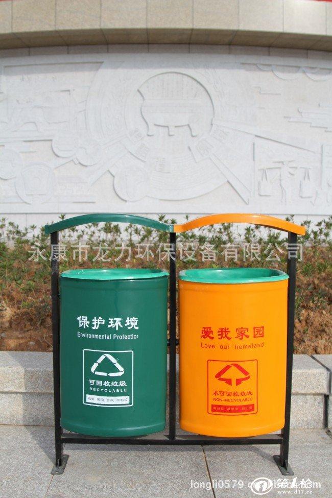 供应圆桶垃圾桶 金华垃圾桶