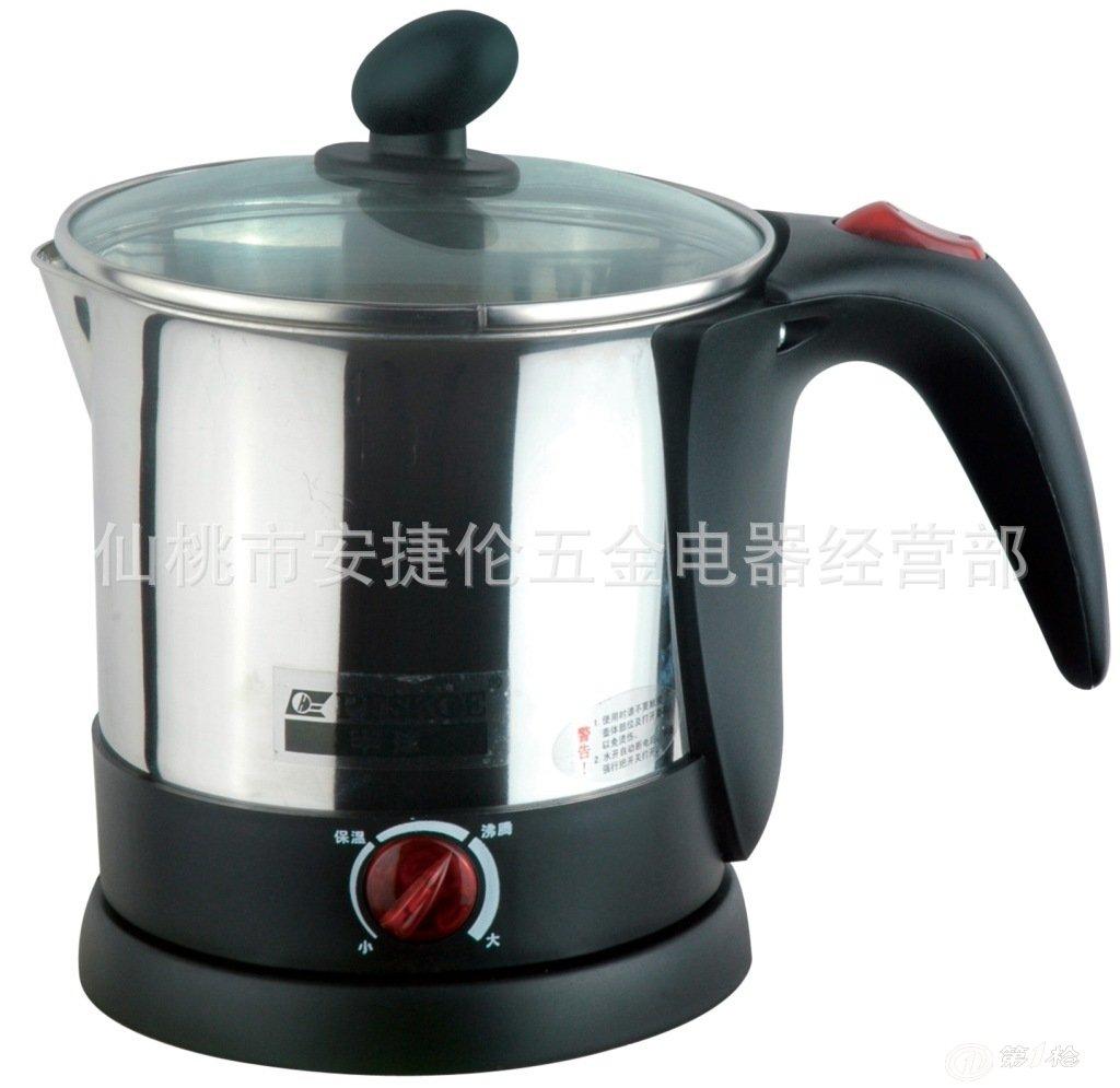 批量供应牡丹花陶瓷变色电热水壶