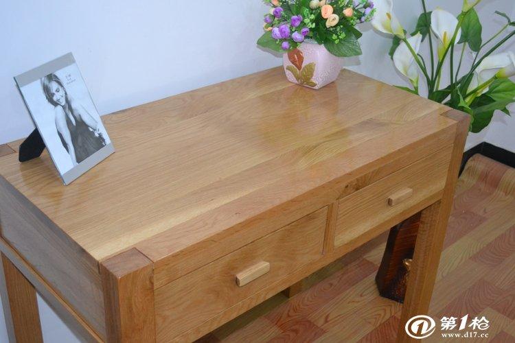 书桌 写字桌 电脑桌 实木家具 白橡木 批发 经销