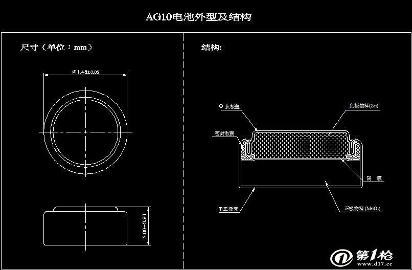 第一枪 产品库 电工电料,线缆照明 电池,充电器 纽扣电池 ag10(l1131.