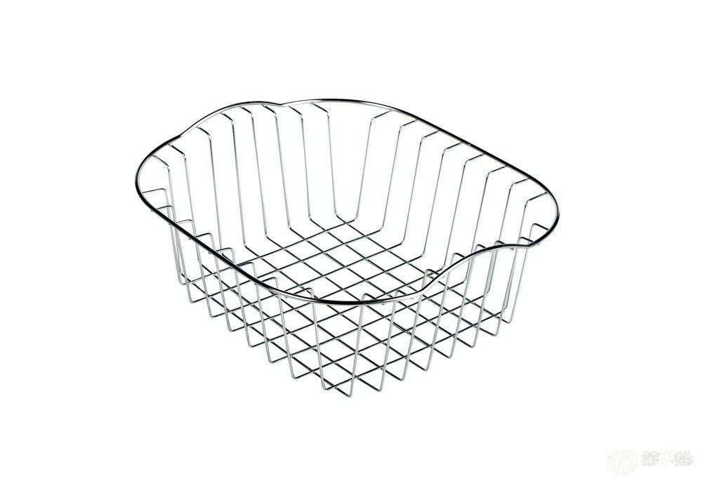沥水篮 置物篮  本公司专业生产各类金属丝产品,包括拉篮,网筐,水果篮